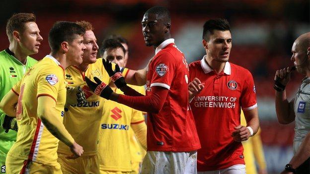 Charlton v MK Dons