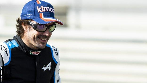 Fernando Alonso ahead of pre-season testing