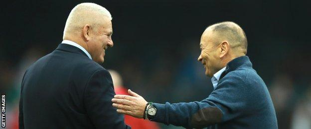 Warren Gatland and Eddie Jones