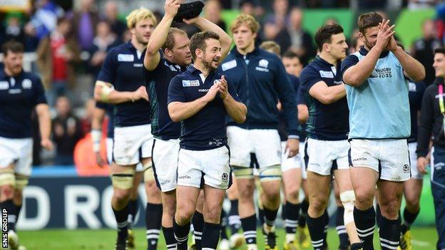 Scotland reached the last eight at the World Cup