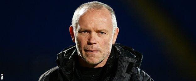 Inverness Caledonian Thistle manager John Hughes