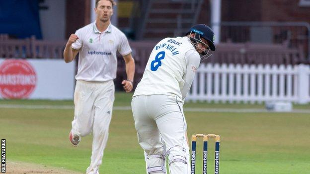 Will Davis wicket