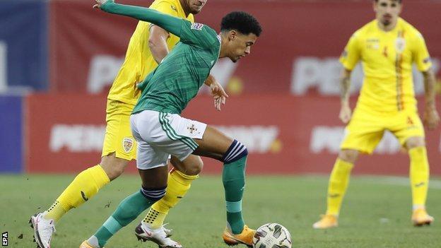 Northern Ireland and Norwich left-back Jamal Lewis