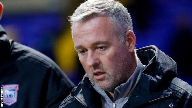 Ipswich Town boss Paul Lambert was among the six to test positive at Portman Road