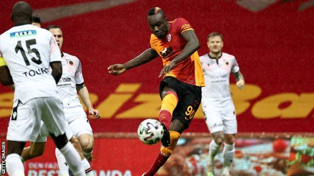 Galatasaray's Mbaye Diagne