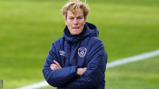 Republic of Ireland boss Vera Pauw