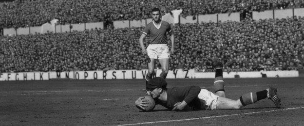 Harry Gregg kept 48 clean sheets during his nine years at Manchester United