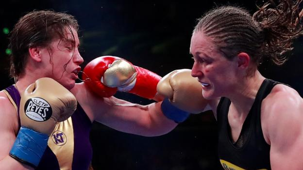 Katie Taylor Undisputed Lightweight Champion After Points