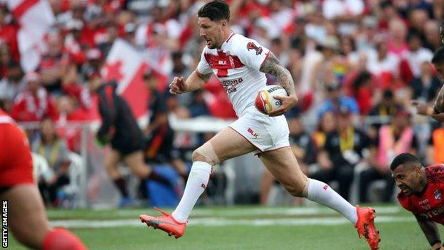 England hold off Tonga to reach World Cup final - video & report
