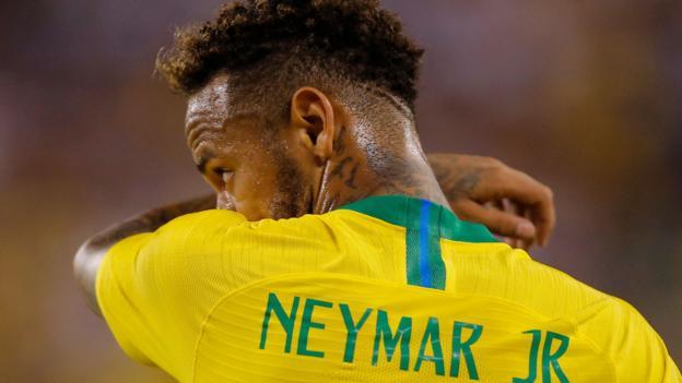 USA v Brazil: Neymar & Roberto Firmino on target, Richarlison makes debut - ...