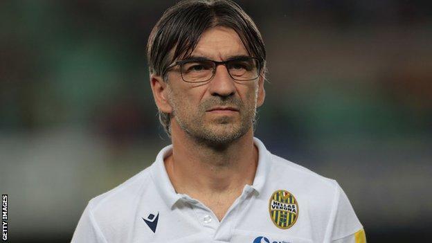Hellas Verona coach Ivan Juric