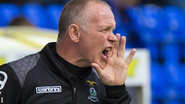 Hughes is banned for Saturday's visit to Motherwell