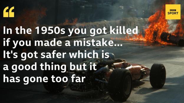 Eddie Irvine quote on safety
