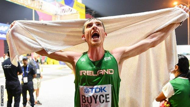 Brendan Boyce is set to compete in his third Olympics next year