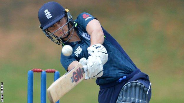 England opener Amy Jones