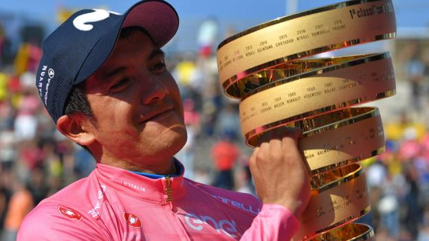 Team Ineos: Richard Carapaz to join from Movistar on three-year deal from next season thumbnail