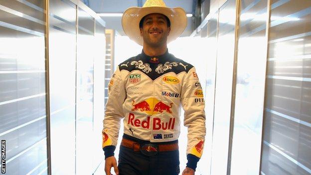 Red Bull Racing's Daniel Ricciardo
