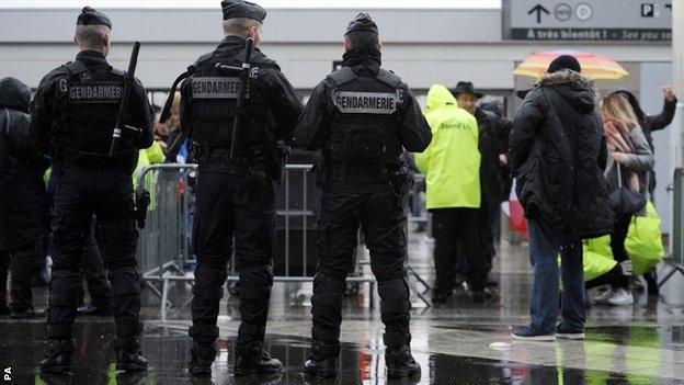 Stade de France security