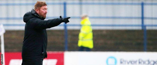 Former Ards and Portadown boss Currie was named Carrick Rangers manager in 2017