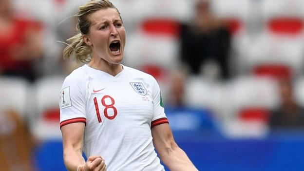 Women's World Cup 2019: Record 6.1m watch England beat Scotland on BBC TV thumbnail