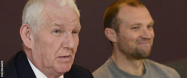 Ards chairman Brian Adams said sacking Colin Nixon was a difficult decision