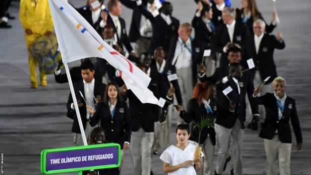 Flüchtlingsolympiade bei den Rio-Spielen 2016