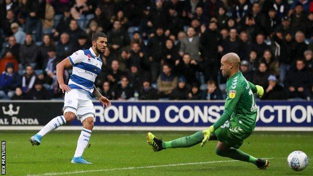 Wells is on loan at QPR from Burnley for the second successive season