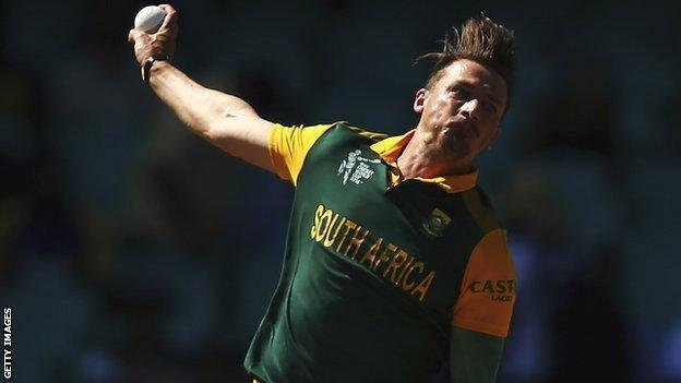 South Africa bowler Dale Steyn