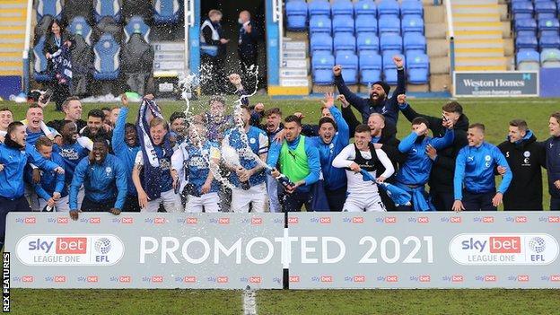 Peterborough celebrate