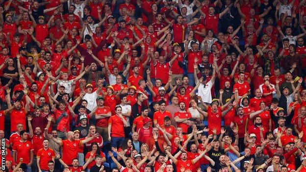 Wales' World Cup qualifier against Estonia in September was their first at the Cardiff City Stadium without crowd restrictions since 2019