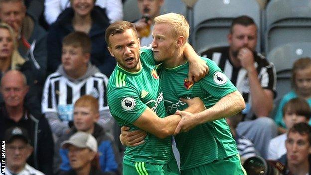Will Hughes and Tom Cleverley