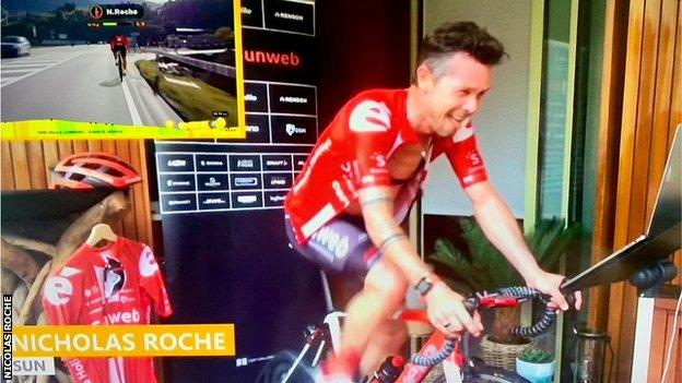 Nicolas Roche's best finish in one of cycling Grand Tours was fifth place in the Vuelta a Espana in 2013