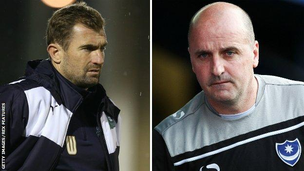 Paul Wotton (left) and Paul Cook