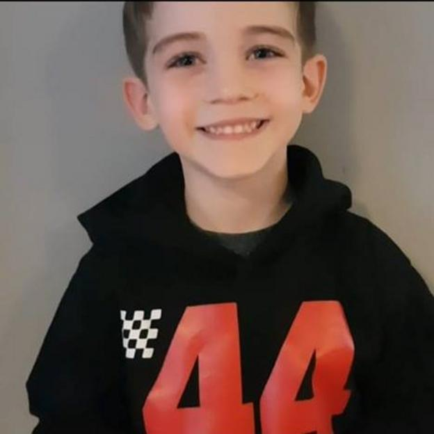 """Jodie Lawson: """"This is my son Lennie. He has been obsessed with F1 since he was a baby. His adoration for Lewis organically developed over time and he sees Lewis as his ultimate idol. As a mother couldn't wish for Lennie to have a better role model to aspire to be when he grows up. We love our champ Lewis Hamilton"""""""