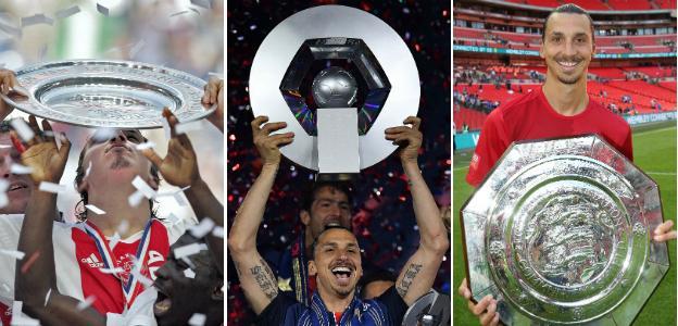Zlatan Ibrahimovic trophies