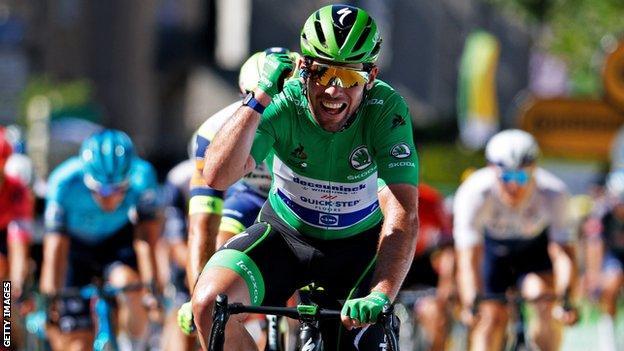 Mark Cavendish wins stage 13