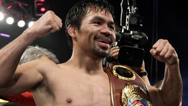 Manny Pacquiao claims WBO welterweight title on return to ...