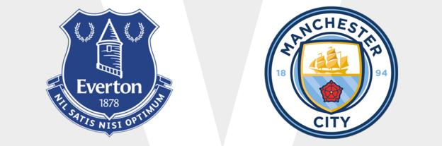 Everton v Man City