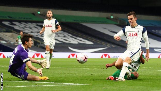 Tottenham Maccabi Haifa Kane Hat trick As Spurs Reach Europa Group Stage BBC Sport