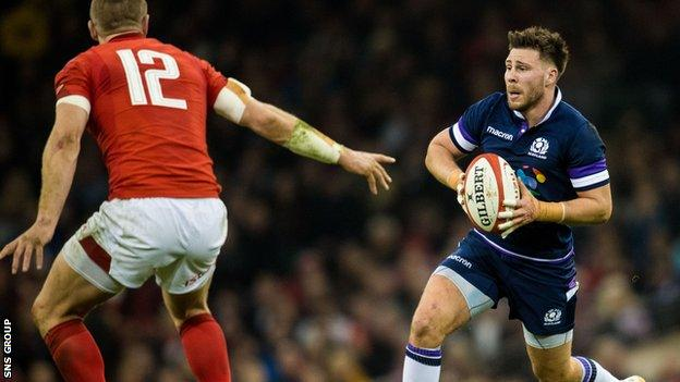 Ali Price started against Wales but lost his starting place to Greig Laidlaw
