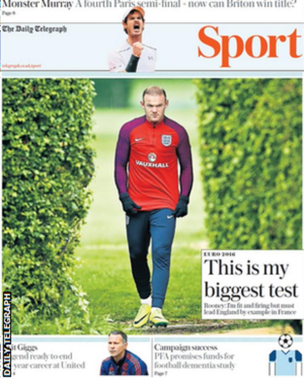Daily Telegraph sports supplement