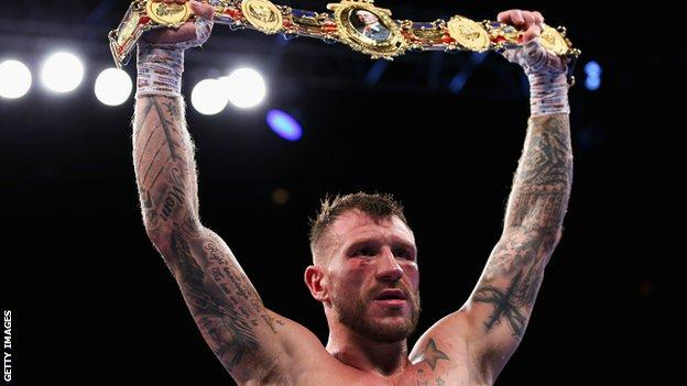 Jason Welborn defended his British middleweight title in a thrilling win