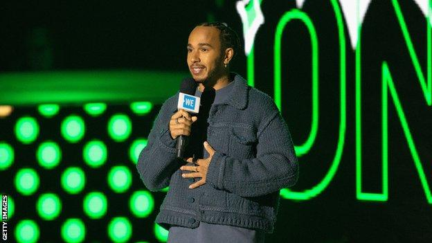 Lewis Hamilton: Formula 1 world champion to launch Extreme E team