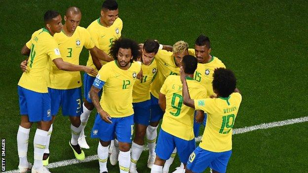 Coutinho's superb goal failed to spark Brazil into life and it took them another 57 minutes to hit the target