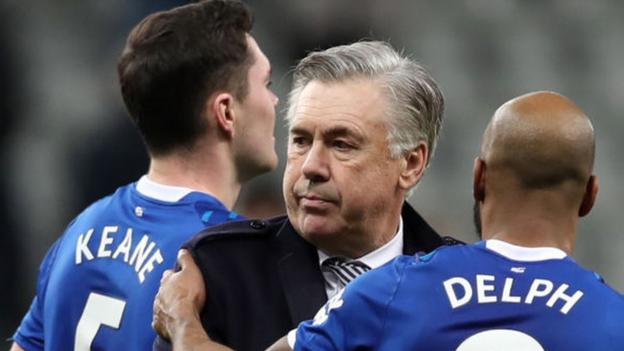 Everton boss Carlo Ancelotti & players agree wage deferrals thumbnail
