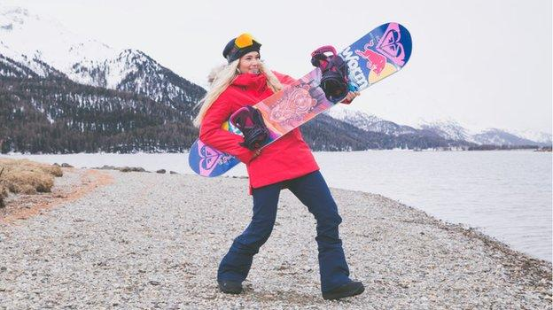 Ormerod is a multiple World Cup medal-winning snowboarder but her hopes of Olympic glory in slopestyle and big air events at Pyeongchang 2018 were scuppered when she broke her wrist then fractured her heel in two falls in training in the space of two days, just before the event began