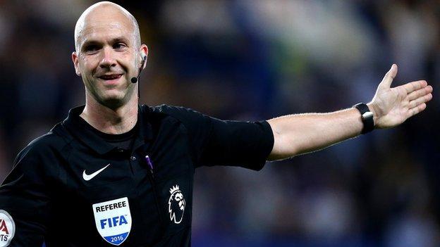 Referee Anthony Taylor