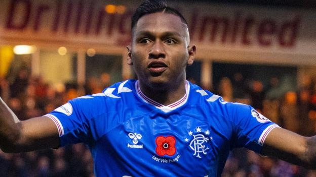 Alfredo Morelos: Rangers striker will not be sold in January - Ross Wilson