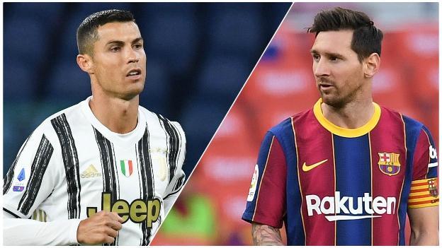 Cristiano Ronaldo และ Lionel Messi