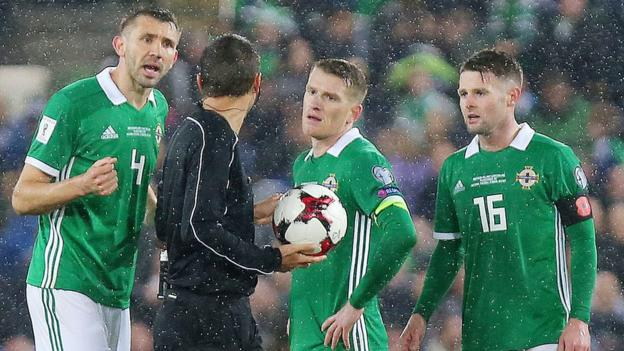 Northern Ireland lost 1-0 to Switzerland